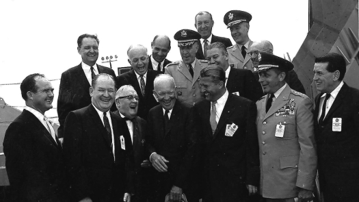 President Dwight D. Eisenhower, Dr. Von Braun and Others