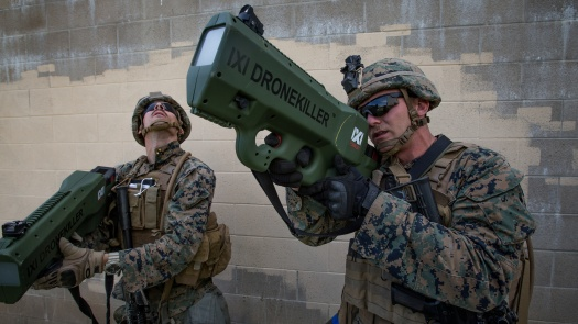 Drone Killer Counter-UAS Technology at Camp Pendleton