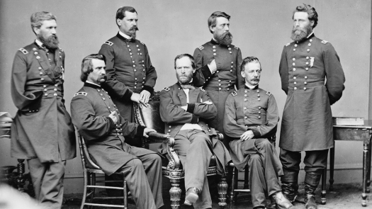 William, Tecumseh, Sherman and Staff