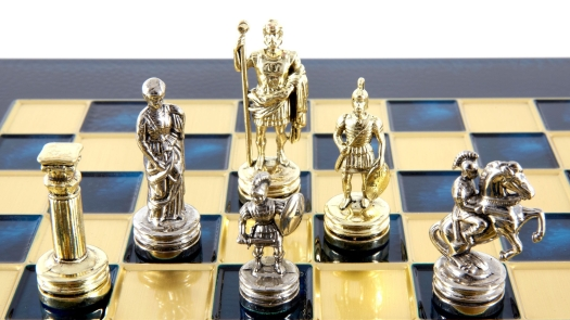 Gold and Silver Chess Game